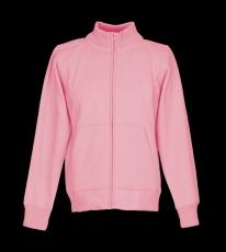 Sweat-Jacke mit Stehkragen 340g/qm