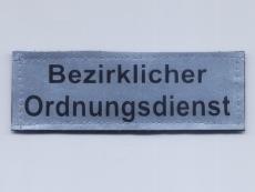 Namenstreifen Reflexband 2-zeilig, bedruckt