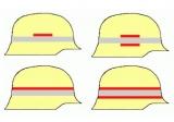 Helmkennzeichnungsband Fw