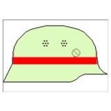 Helmkennzeichnungsband Fw Bayern (Gummiring)